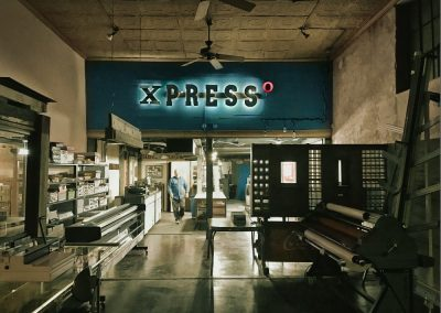 Xpresso Print Cafe night shot with Craig Hanson